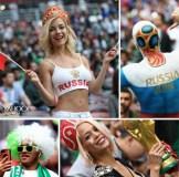 【ロシアW杯】世界中の美女サポーターが集結!さながら「プチ・ミス・ワールド」写真館Vol.1