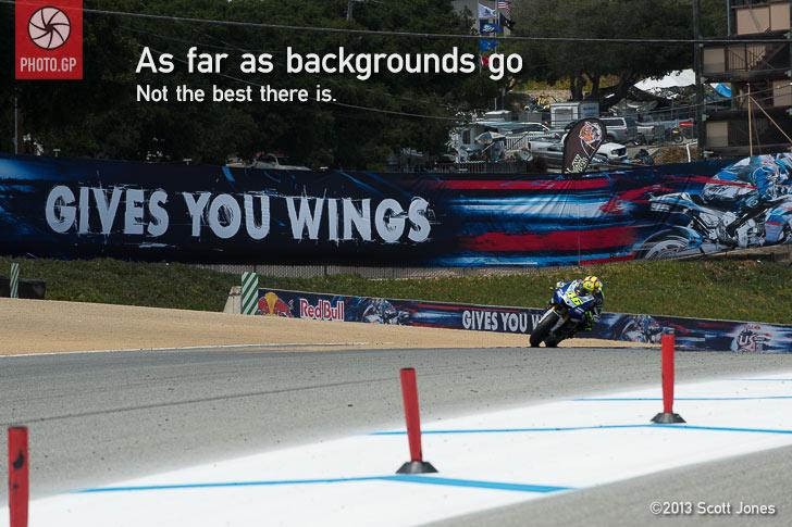 Turn 1 Laguna Seca MotoGP