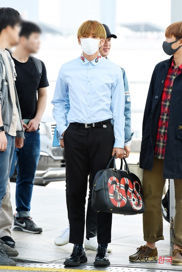Picture Media Bts At Incheon Airport Go To Jakarta