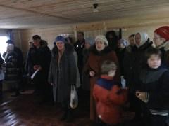 5 - чин освящения Креста в часовне свв. Петра и Февронии