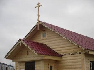 9 - чин освящения Креста в часовне свв. Петра и Февронии