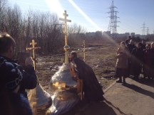 7 - Освящение куполов храма
