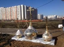 13 - Освящение куполов храма