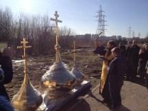 25 - Освящение куполов храма