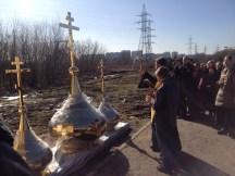 29 - Освящение куполов храма