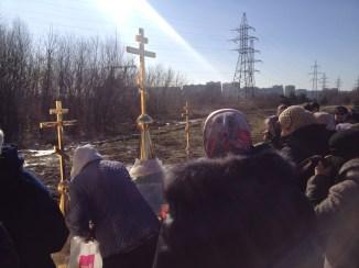 32 - Освящение куполов храма
