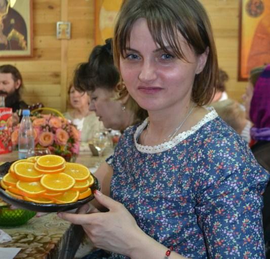 Празднование дня жен-мироносиц на Приходе