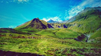 19.3Вид на гору Казбек