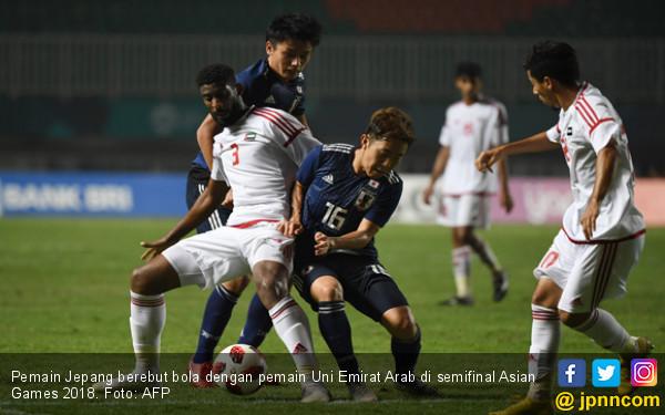 Jepang Vs Korsel di final Sepak Bola Putra Asian Games ...