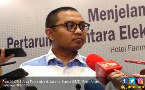Survei CSIS: Jarak Elektabilitas Jokowi-Ma'ruf dengan Prabowo-Sandi Masih Besar - JPNN.COM