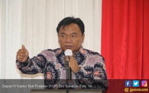 KSP: Jokowi Sangat Mungkin Mengadopsi Program Prabowo - Sandi - JPNN.COM