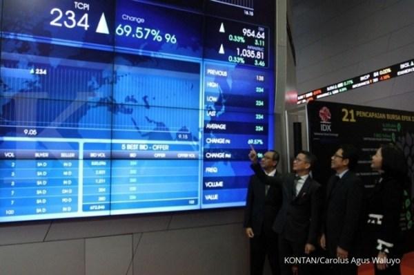 Harga naik 31 kali lipat dalam sebulan, perdagangan saham TCPI kembali dihentikan
