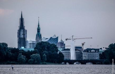 City von Ferne