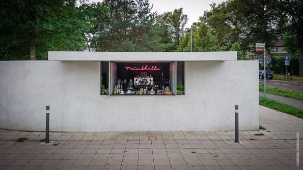 Kiosk, van der Rohe