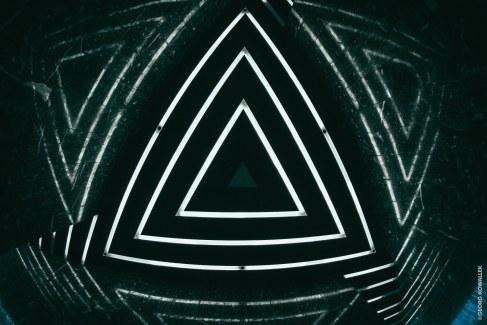 Triangel-Leuchte