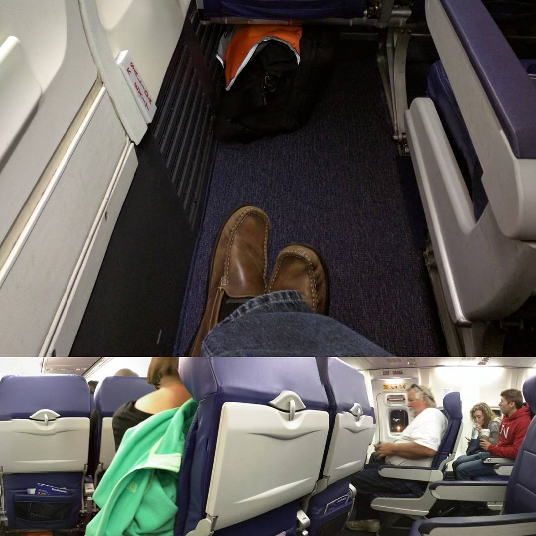 Exit row by myself plus the cutout seat and on my longest leg of the day. This is an