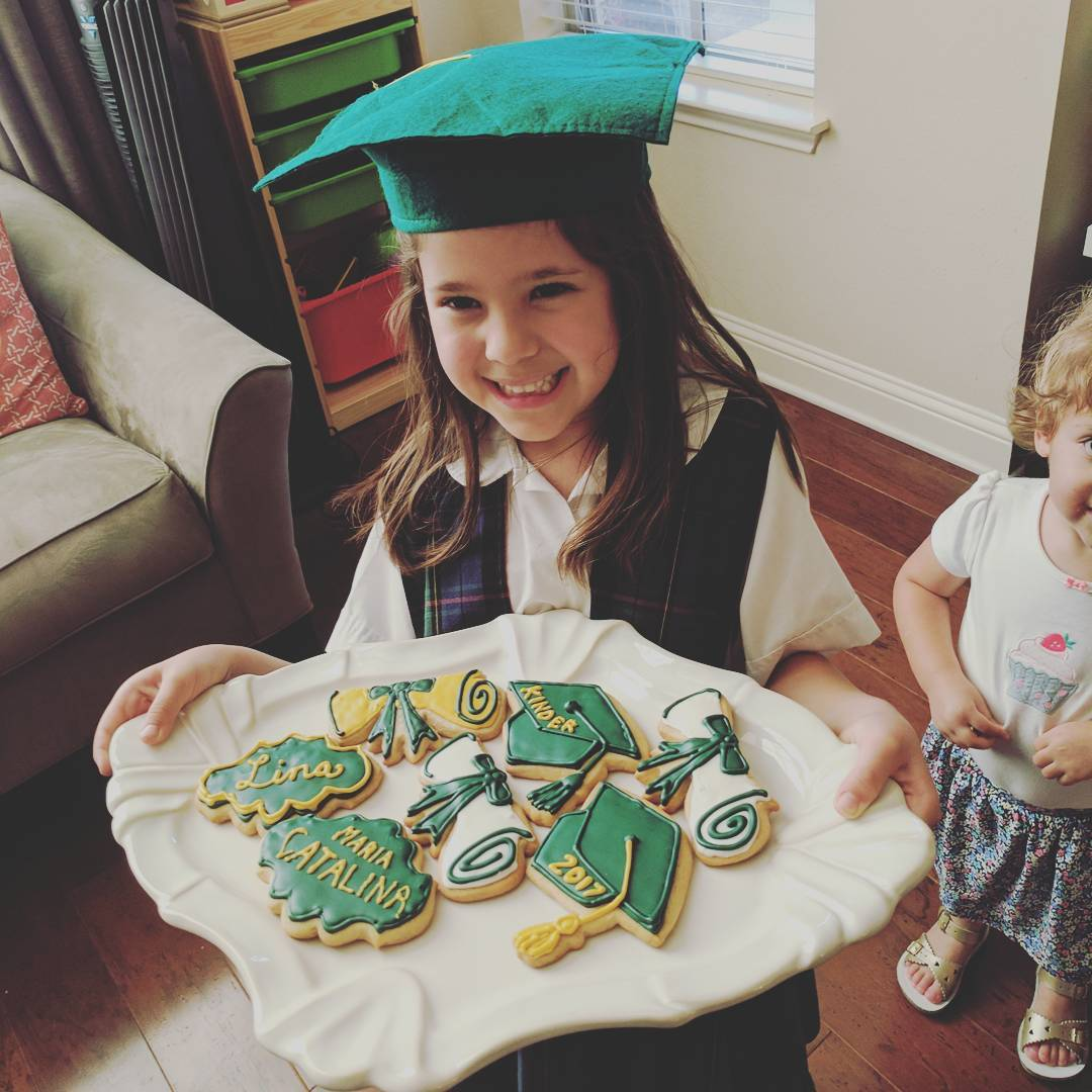 Congratulations Catalina on first of many school years in the books