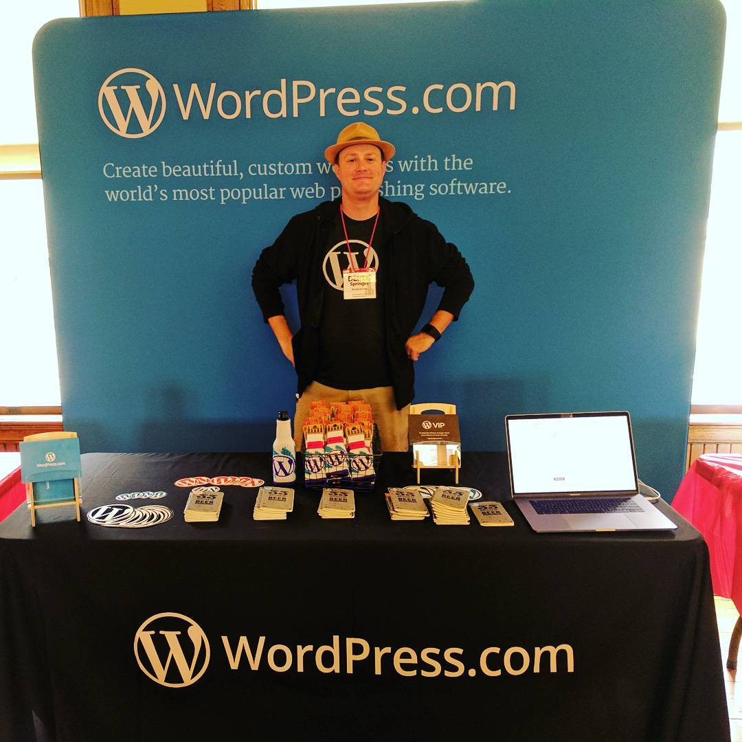 Come meet Derek (National Homebrewing Competition Finalist) and me (um, I homebrew a little) and talk WordPress! Grab a beer journal and register to win a Yeti cooler