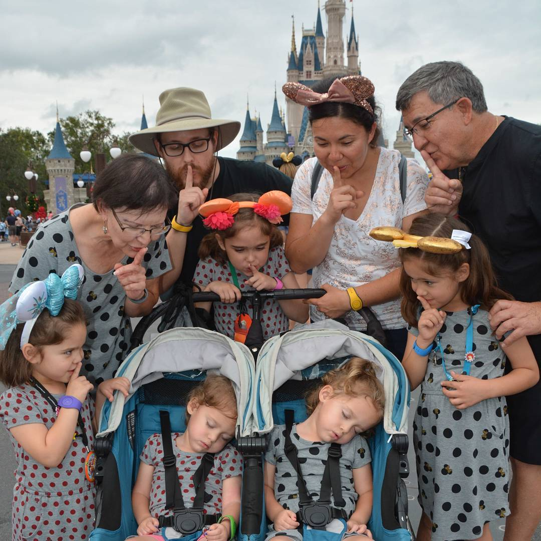 Disconnected this last week for a family vacation to Disney World. I'm about ready to sleep as soundly as the twins were during this picture