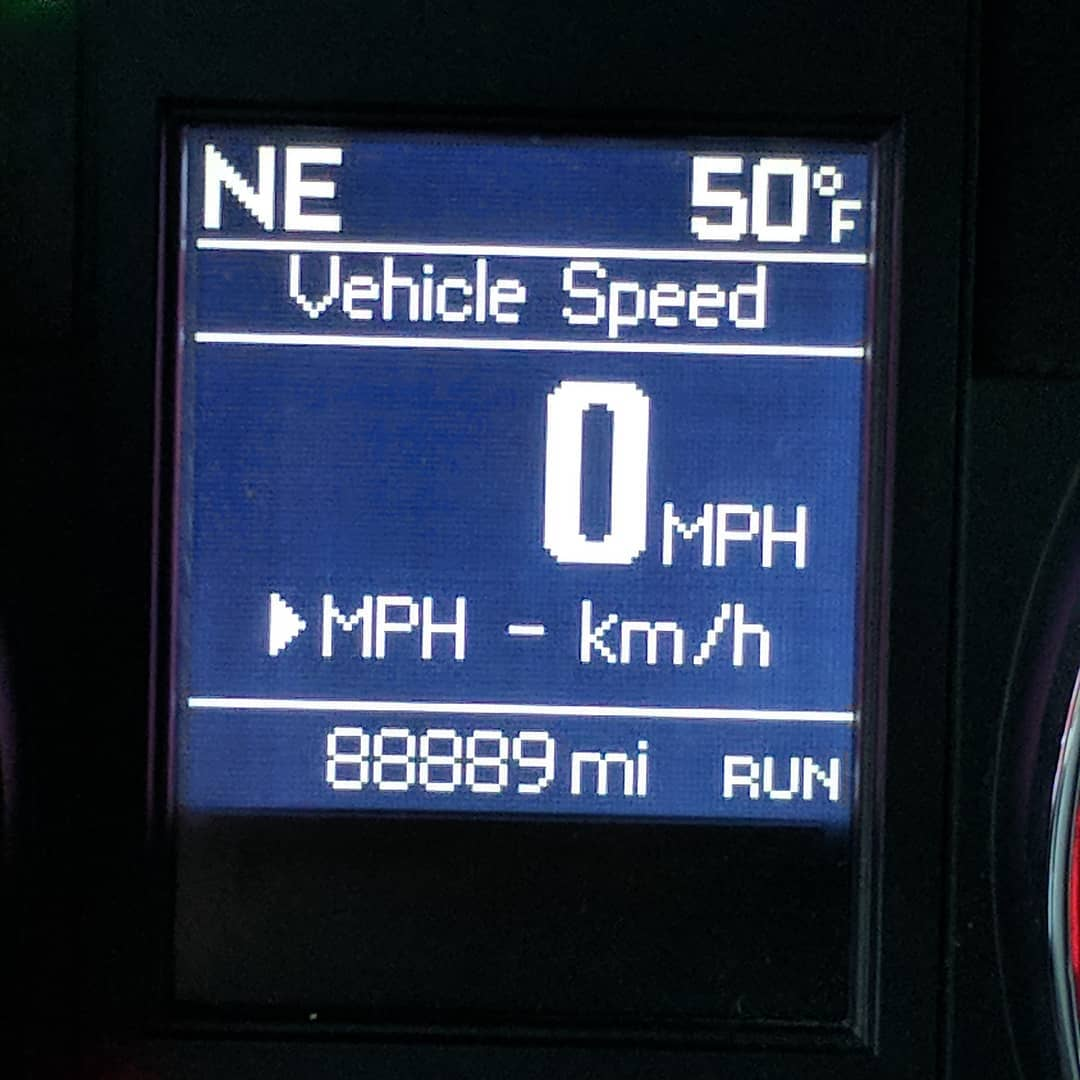 "Sigh. So close from seeing 88888. If we saw some ""serious shit"" at 88 MPH, can you imagine what would have happened if I was going 88 when hitting 88888"