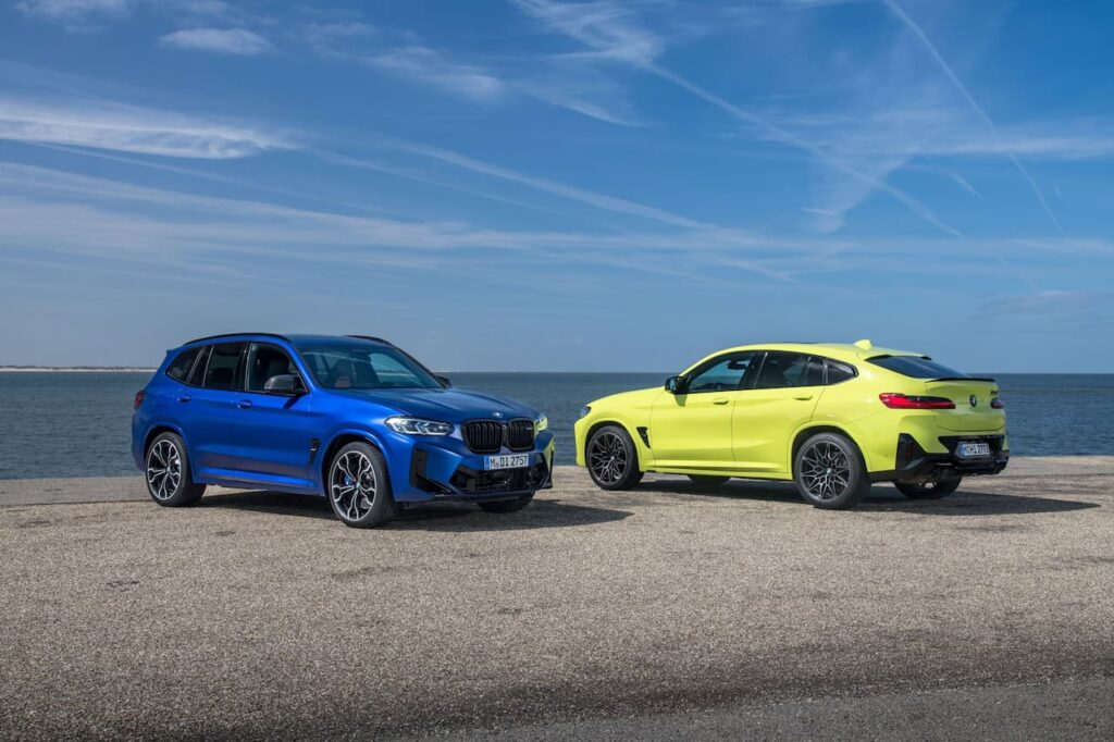 BMW X3 and BMW X4 LCI 2022 version launched 18
