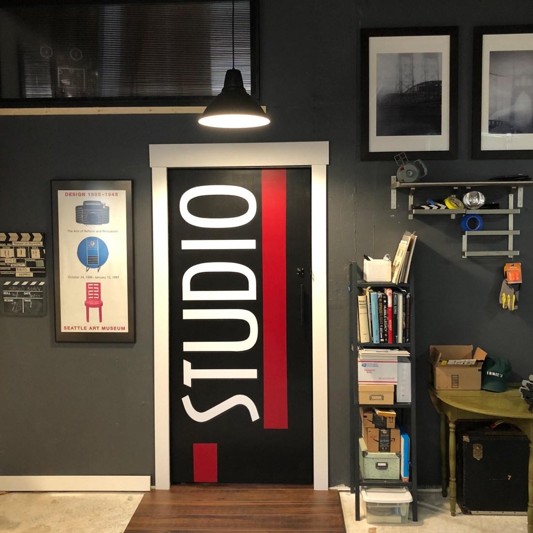 Patrick's STUDIO door