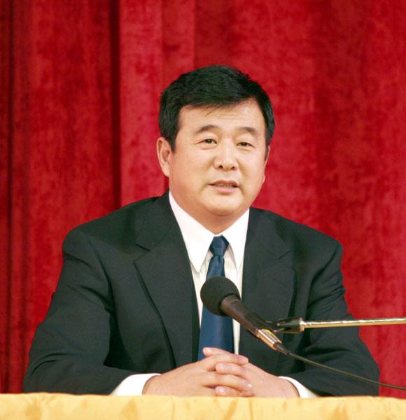 2005年2月26日,李洪志师父亲临美西法轮大法修炼心得交流会讲法