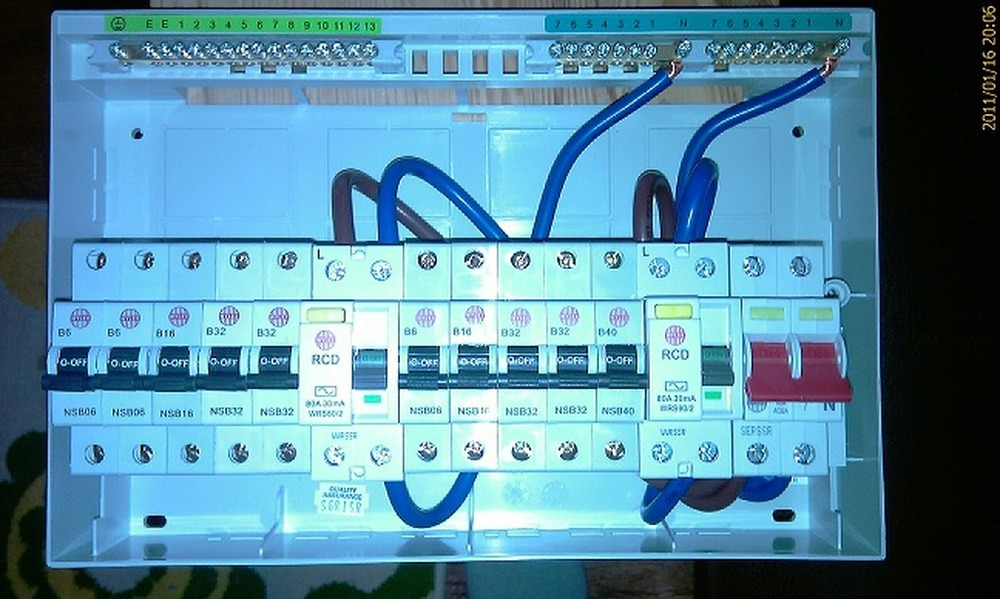 Replace Fuse Box With Consumer Unit