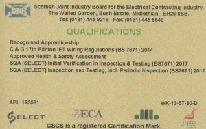 17th Edition Wiring Regulations Course Glasgow  Wiring