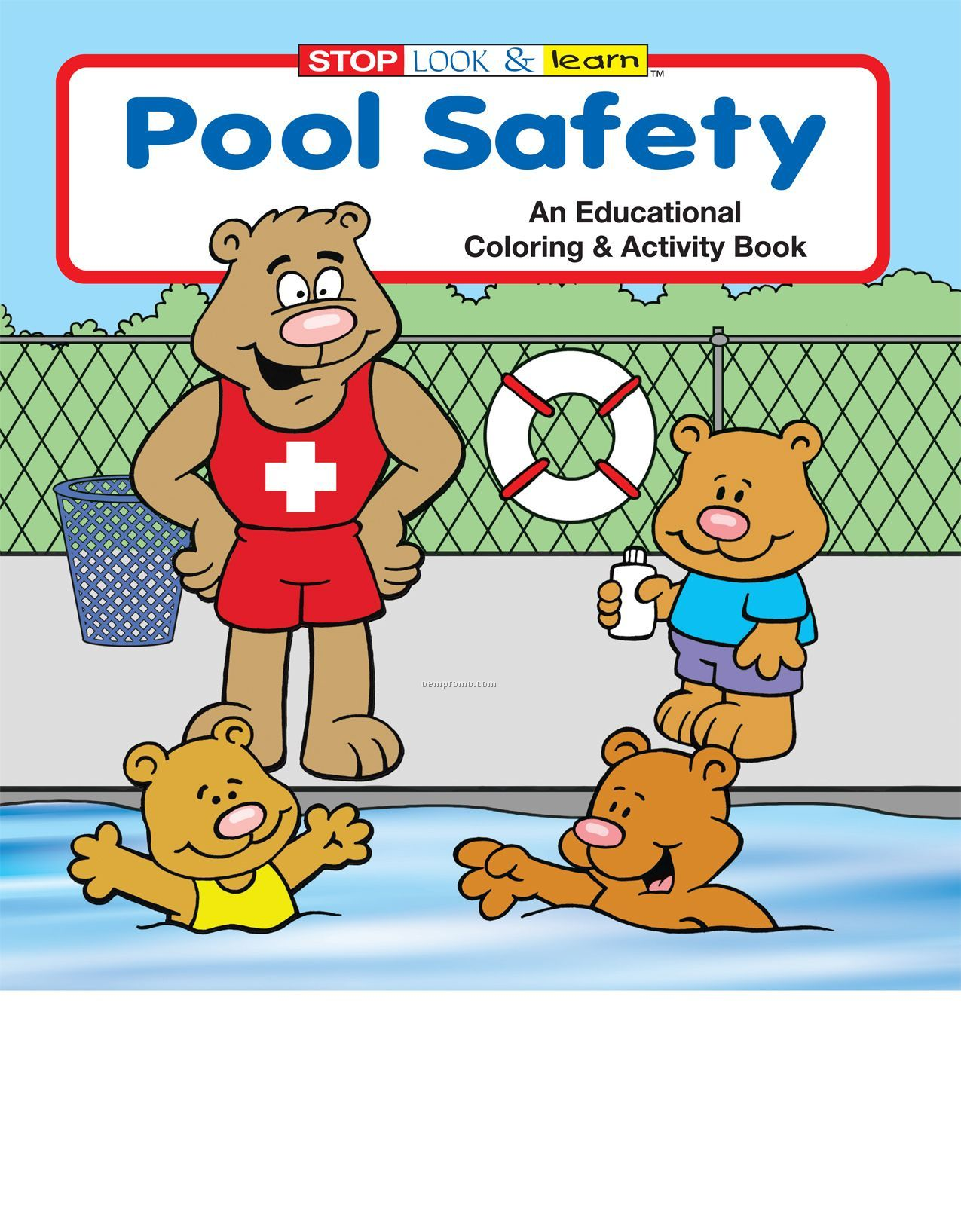 Pool Safety Coloring Book Fun Pack China Wholesale Pool