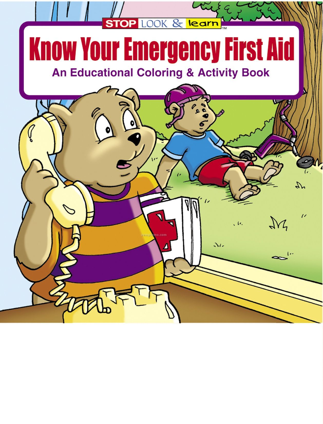 Know Your Emergency First Aid Coloring Book Fun Pack China Wholesale Know Your Emergency First