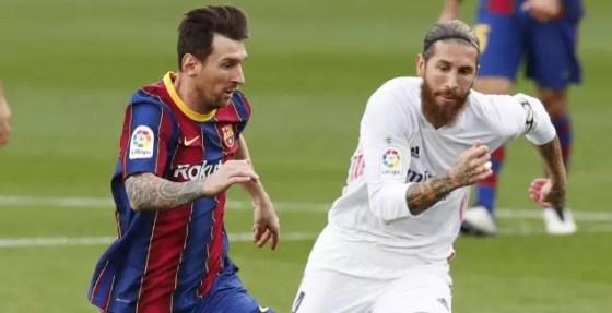 Sergio Ramos and Leo Messi (Reuters)