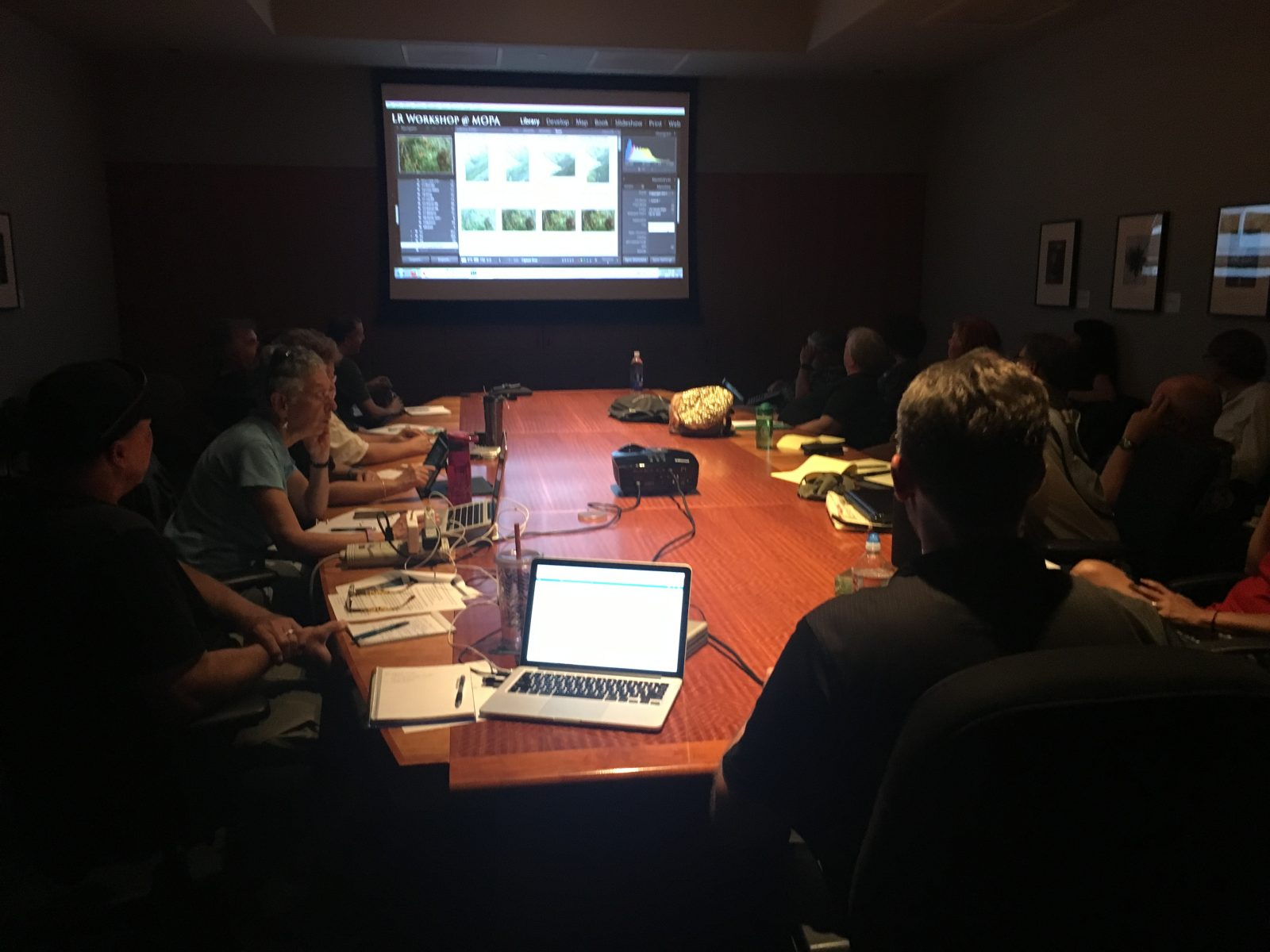 Lightroom Workshop at the MOPA