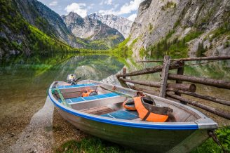 """Honorable mention, Travel category: """"Small Boat"""" by Shuwen Lisa Wu"""