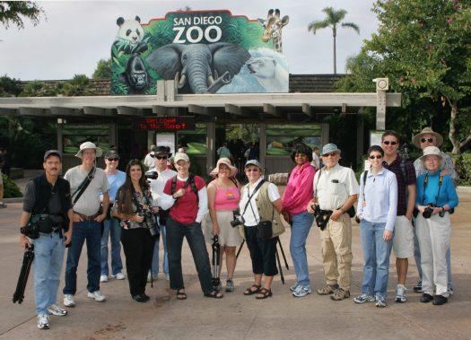 San Diego Photo Club 2005 at the San Diego Zoo. Photo by Steve Cirone.