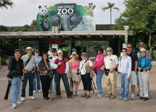 San Diego Photo Club 2005 at the San Diego Zoo. Photo by Steve Cirone.