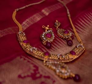 Kamala Venkatesh - Red Jewelry
