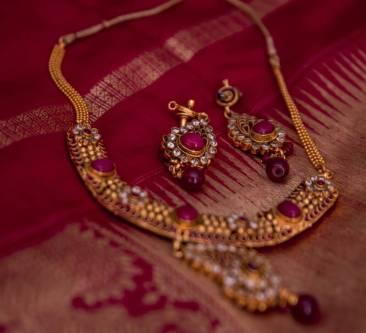 Kamala Venkatesh - Red Jewelry