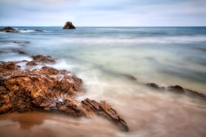 Corona Del Mar by Larry Vogel