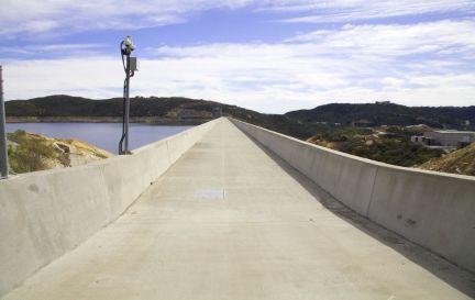 Dawn Douglas - Roadway atop Olivenhain Dam