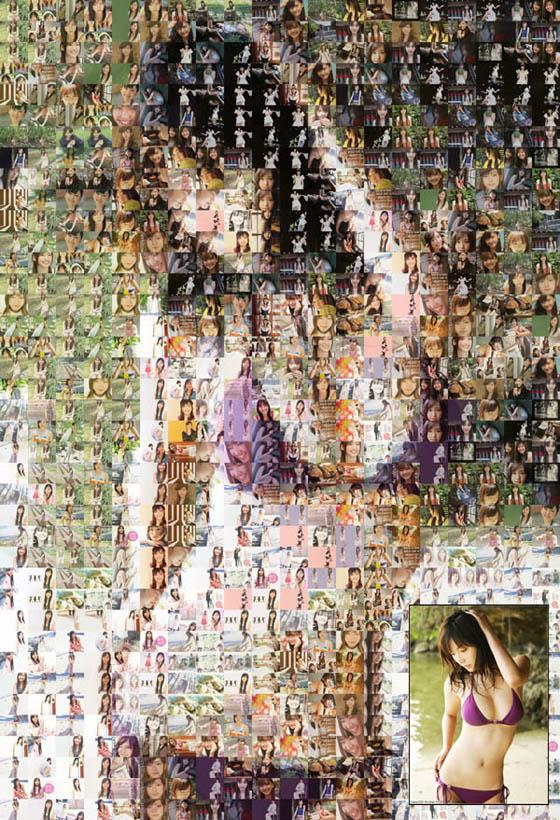 [特效] Foto-Mosaik-Edda 蒙太奇、馬賽克圖片拼貼製作@免安裝中文版