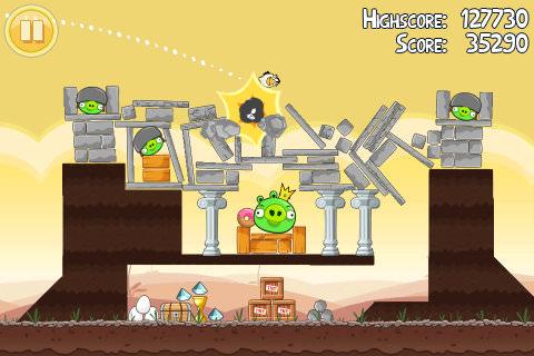憤怒鳥 Angry Birds  綠色免安裝 PC 電腦版 遊戲下載