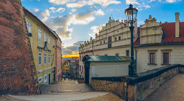 Prague Castle Stairs Walkway Virtual Reality Tour by Jean-Pierre Lavoie