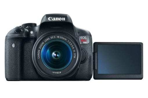 eos rebel t6i dslr camera front open d - Canon EOS Rebel T6i EF-S 18-55mm IS STM Lens Kit