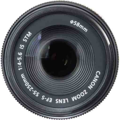 Canon EF S 55 250mm110  - Canon EF-S 55-250mm f/4-5.6 IS STM Lens