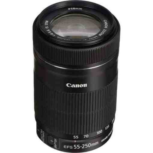 Canon EF S 55 250mm12 - Canon EF-S 55-250mm f/4-5.6 IS STM Lens