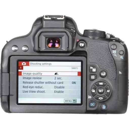 Canon EOS Rebel T7i DSLR Camera with 18 55mm Lens 16 - Canon EOS Rebel T7i Digital SLR Camera with 18-55mm Lens