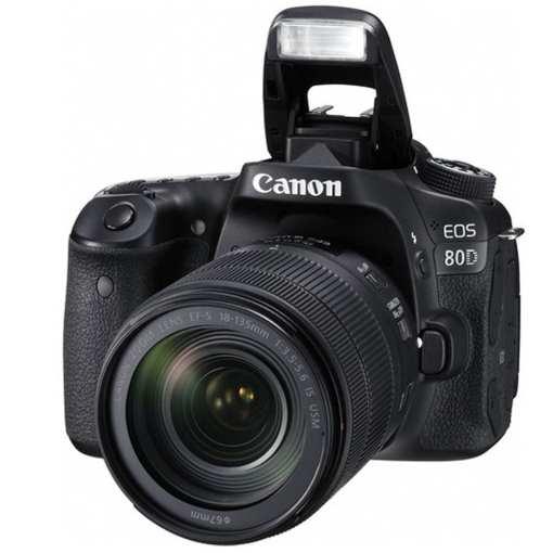 0a481b17 30b4 43c1 897a e81778eb49df - Canon EOS 80D Video Creator Kit with EF-S 18-135mm 1:3.5-5.6 IS USM Lens, Black (1263C103)