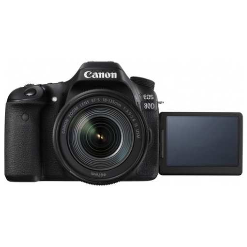 54004d80 b54f 4982 927b 257354558cfd - Canon EOS 80D Video Creator Kit with EF-S 18-135mm 1:3.5-5.6 IS USM Lens, Black (1263C103)