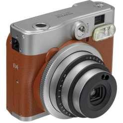 ea4f139c d31c 4e19 952c b7bd0adb2bbb - Fujifilm Instax Mini 90 Neo Classic Instant Film Camera (Brown) (U.S.A.)